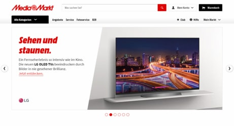 Mediamarkt Screenshot von Billigerals