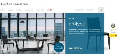 Screenshot der Webseite vom dieter-horn-de vom bIlligerals Team
